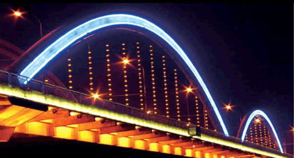 LED全彩护拦管